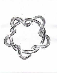 Waldorf ~ 4th grade ~ Form Drawing ~ Braided Circle 4th Grade Art, Fourth Grade, School Braids, Form Drawing, Celtic Patterns, Cultural Studies, Norse Mythology, Weird And Wonderful, Celtic Knot