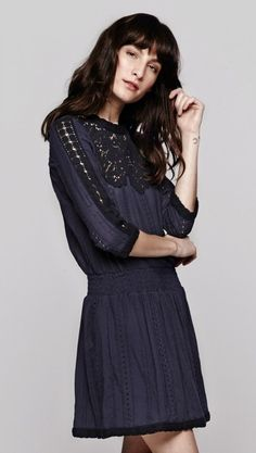 Lace & Eyelet LS Dress by The Dreslyn @The Dreslyn @Luvocracy