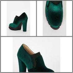 Green Velvet Block H