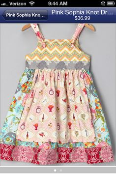 No web link... Just a photo for personal sewing inspiration.