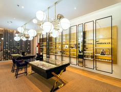Whitespace created a luxury eyewear brand and environment to showcase Luxoptiq high-end lines, where their well heeled clientele can be pampered by attentive staff.