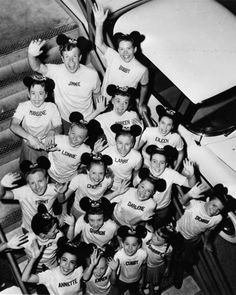 MICKEY MOUSE MOUSEKETEERS 1950s