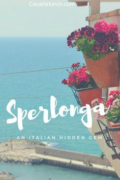 Sperlonga Beach: The Best things to do in Sperlonga, Italy #Sperlonga #Italy #VisitItaly #Positano #Amalfi