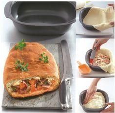 Voilà une recette facile à faire avec l'Ultra Pro 2L et qui ravira toute la famille ! Ingrédients : – Pâte à pizza : 20 g de levure de boulanger, 150 ml d'eau tiède, 25 ml d'…