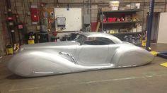 Rick Dore built 'Aquarius' Custom... bare metal...