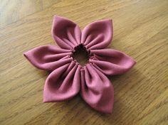 DIY: Stoffblumen