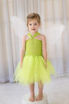 Tinkerbell Fairy Inspired Birthday Dress / Halloween Costume