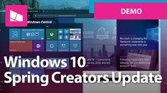 Windows 10 Spring Creators Update - Official Release Demo