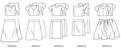 Mix and match https://www.knipmode.nl/jurk-pdf-patroon-13755