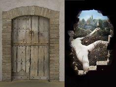 Marcel Duchamp,Étant donnés: 1° la chute d'eau, 2° le gaz d'éclairage . . .