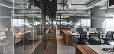 Emirates National Investment Office by Swiss Bureau Interior Design - Office Snapshots