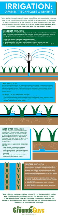 #irrigation techniques and benefits