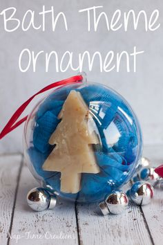 ornamets for kids bath theme ornament from Nap-Time Creations