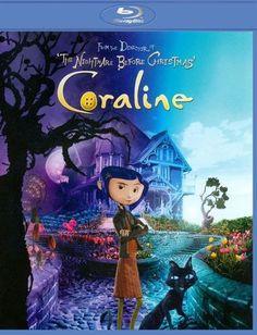 ****Coraline [2 Discs] [3D] [Blu-ray/DVD] [Blu-ray/Blu-ray 3D/DVD] [Eng/Fre/Spa] [2009] - Front_Standard