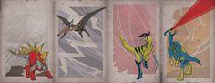 Image of X-Dinos [Set 2]
