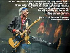 Keith Fucking Richards
