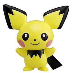 "Takaratomy Pichu (MC-1): Pokemon Monster Collection 2"" Mini Figure"