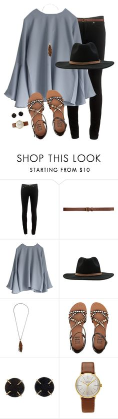 """""""Happy Saturday y'all!!"""" by joannakirk ❤ liked on Polyvore featuring rag & bone, H&M, RVCA, Botticelli's Niece, Billabong, Melissa Joy Manning and Junghans"""