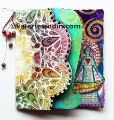 Abundance journal, visual blessings - Valerie is an AMAZING teacher and such a talented artist!  I was lucky enough to take one of her online classes!