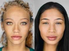 """Visualizing Race, Identity, and Change by Michele Norris.  Article from National Geographic's PROOF blog - also links to NG's feature story """"Changing Faces."""""""