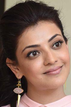 Model Kajal Agarwal Face Close Up Photos Gallery