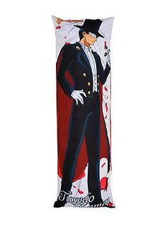 Sailor Moon Tuxedo Mask Body Pillow,