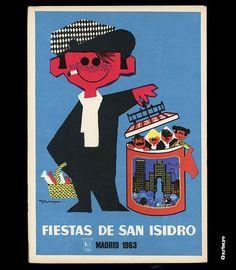 Carteles de las Fiestas de San Isidro | Pioneros Gráficos