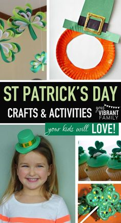 It's so much fun to do St Patrick Day crafts with our kids and to eat greatSt Patrick Day recipes on this day that celebrates all things Irish (and green)! These activities (silly though they may be) areimportant because most parenting days, we could al
