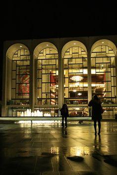 metropolitan opera house, lincoln center, nyc