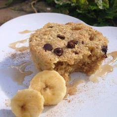 Cuisine Ma-Ligne!: Banane mugcake