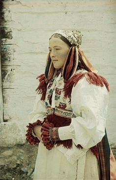 Polomka, Horehronie,  SLOVAKIA Folk Costume, Costume Dress, Ethnic Fashion, Fashion History, Simply Beautiful, Traditional Outfits, Folk Art, Princess Zelda, Culture