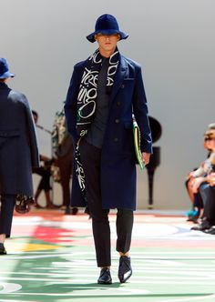 Burberry Prorsum Menswear Spring Summer 2015 Collection - Look 40