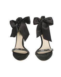 Max Mara Black Satin Pumps  (http://www.cmadeleines.com/max-mara-black-satin-sequin-sandals/)