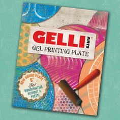 "NEW PRODUCT FROM GELLI ARTS! 8"" Round Gel Printing Plate $27.99 Always ready to print – When you're in the mood to print..."