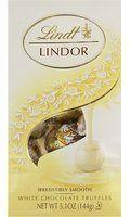 Lindt Lindor White Chocolate Truffle, 5.1 Ounce