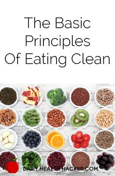 The Basic Principles Of Eating Clean