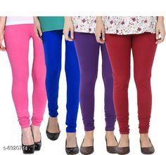Leggings & Tights  Fancy Fashionista Women Leggings  Fabric: 100% Pure Cotton Lycra Pattern: Solid Multipack: 4 Sizes:  30 (Waist Size: 30 in Length Size: 40 in)  32 (Waist Size: 34 in Length Size: 40 in)  34 (Waist Size: 34 in Length Size: 40 in)  36 (Waist Size: 36 in Length Size: 40 in)  38 (Waist Size: 38 in Length Size: 40 in) Country of Origin: India Sizes Available: Free Size, 28, 30, 32, 34, 36, 38, 40   Catalog Rating: ★3.9 (508)  Catalog Name: Fancy Fashionista Women Leggings CatalogID_1104989 C79-SC1035 Code: 964-6920714-7911