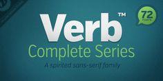 Verb (HOT font) - http://fontsdiscounts.com/verb-hot-font/