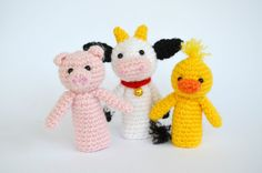 Crochet farm animals amigurumi farm animals crochet by lamicogufo