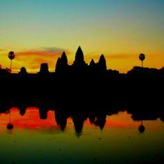 #sunrise Angkor Wat