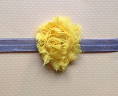 months and months Little Miss Yellow by BooLouBaby Little Miss, 12 Months, Headbands, Yellow, Creative, Baby, Handmade, Vintage, Head Bands