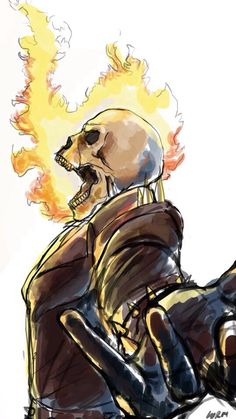 Ghost Rider (Unknown Artist)