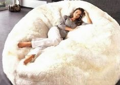 huge bean bag chairs Many thanks for stopping by here. Below is a great picture for huge bean bag chairs. Giant Bean Bag Chair, Giant Bean Bags, Cool Bean Bags, Bean Chair, Large Bean Bag Chairs, Large Bean Bags, Puf Grande, Bean Bag For Adults, White Bean Bags