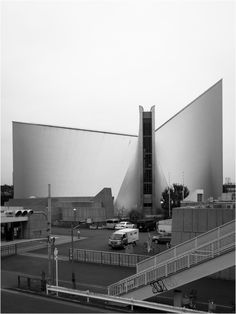 Saint Mary's Cathedral | Tokyo, Japan | Architect Kenzo Tange | photo by Frédéric Muller