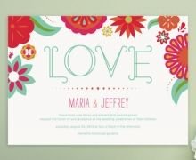 bright details for the invites #wedding