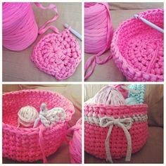 Cestro trapillo rosa