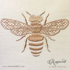 Bee Motif Embroidery Design for Embroidery Machine Instant Happy Embroidery Machine, Bee Embroidery, Embroidery Alphabet, Machine Embroidery Projects, Embroidery Software, Free Machine Embroidery Designs, Embroidery Files, Embroidery Machines, Embroidery Designs Free Download