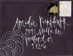 #calligraphy #mail art