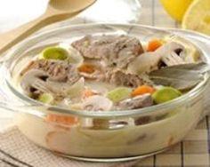 Blanquette de veau à l'ancienne (facile, rapide) - Une recette CuisineAZ