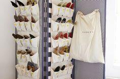 33 Maneras ingeniosas para guardar el calzado